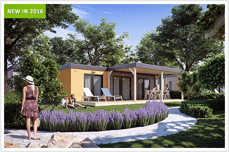Discover new fantastic mobile home villages valamar for Mediterranean modular homes
