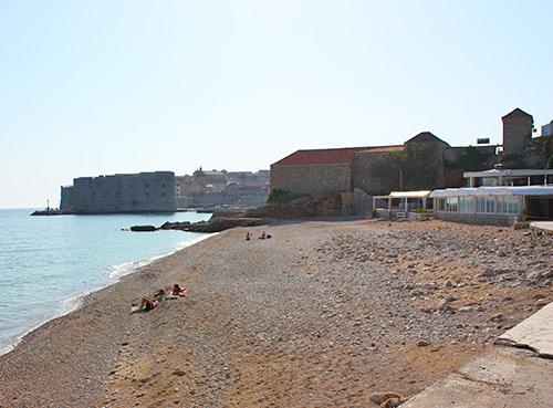 La plage Banje