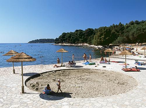 Spiaggia Brulo - Poreč