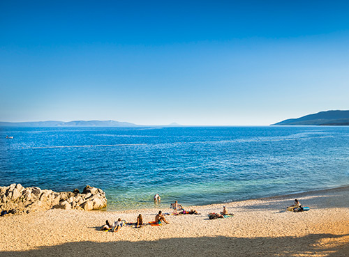 Rabac's beaches and paths - Rabac