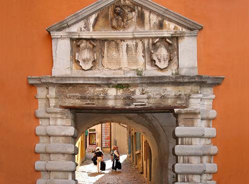 La porte Sanfior - Rabac