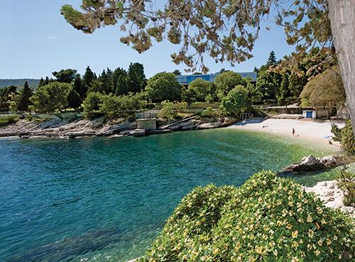 Spiaggia Sant'Andrea - Rabac