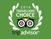 Tripadvisor 2016 Travelers' Choice award