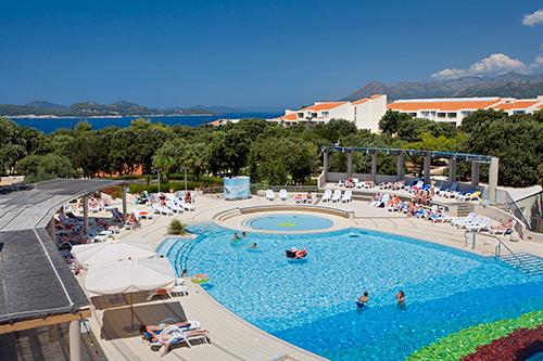 Strand Und Pool Tirena Hotel Dubrovnik Kroatien