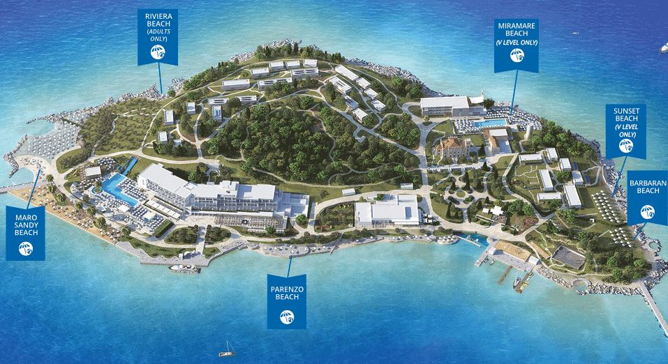 Strand Pools Und Wellness Valamar Isabella Island