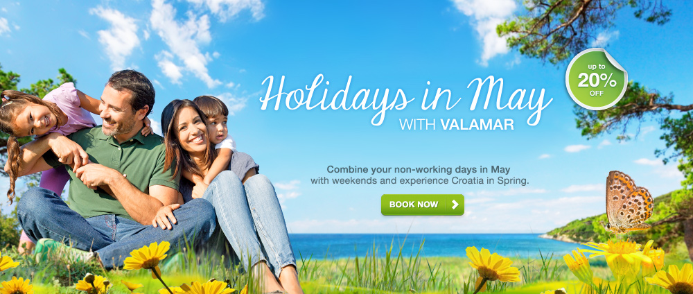 Holidays in May with Valamar - Valamar Hotels & Resorts, Croatia