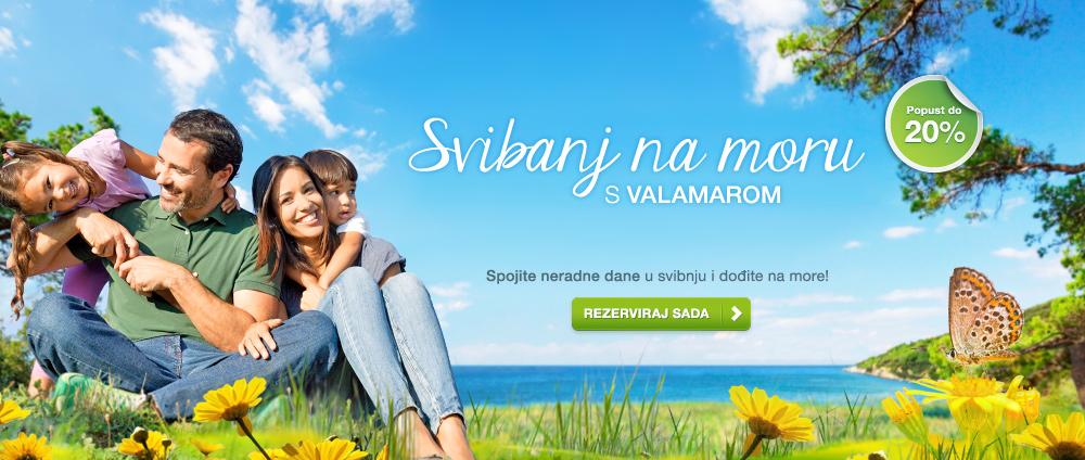 Maj na morju z Valamarjem – Valamar Hoteli & apartmaji, Hrvaška