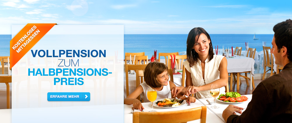 Vollpension zum Halbpensionspreis - Valamar Hotels & Resorts, Kroatien
