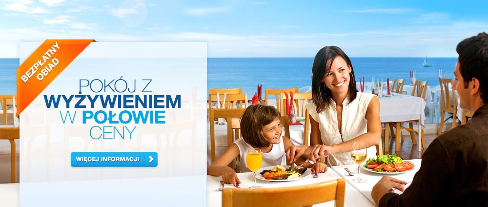 Pełne wyżywienie w cenie wyżywienia częściowego - Valamar Hotels & Resort, Chorwacja