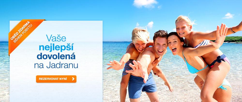Plná penze za cenu polopenze - Valamar Hotels & Resorts, Chorvatsko