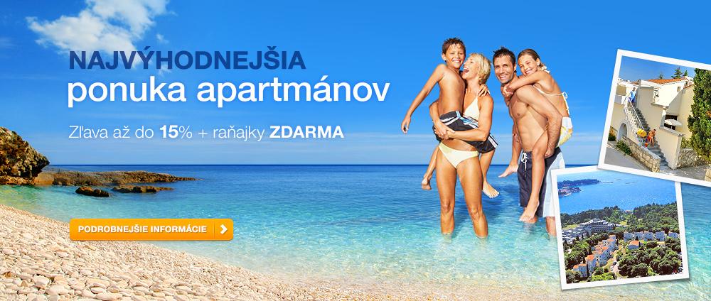 Plná penzia za cenu polopenzie - Valamar Hotels & Resorts, Chorvátsko