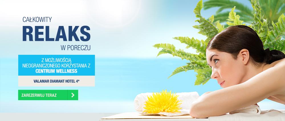 Specjalne pakiety wellness - Valamar Diamant Hotel