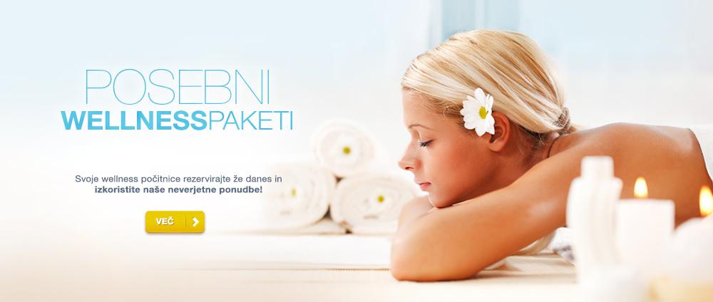 Posebni wellness paketi – Valamar Hoteli & apartmaji, Hrvaška