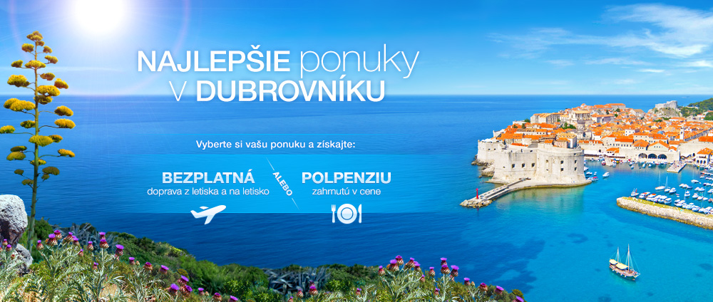 Dovolenka v Dubrovníku 2014 - Valamar Hotels & Resorts, Chorvátsko