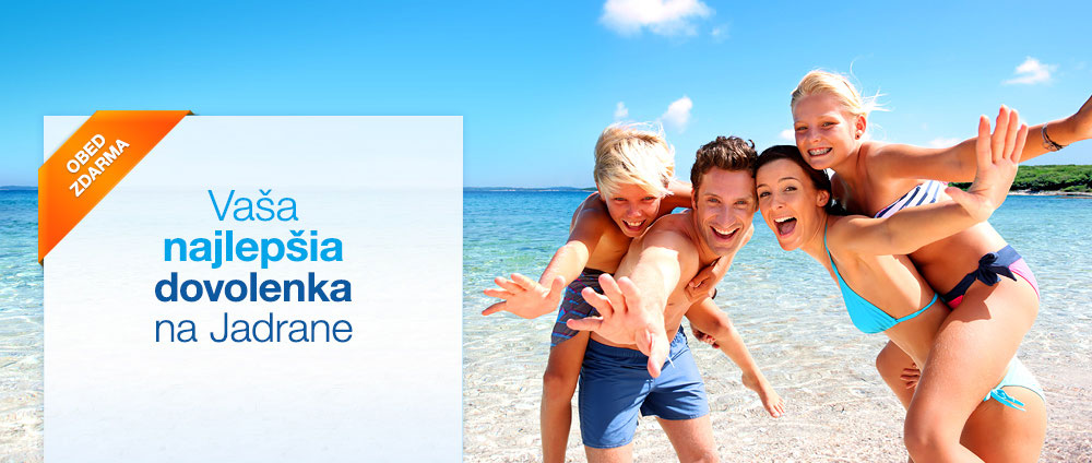 Plná penzia za polovičnú cenu - Valamar Hotels & Resorts, Chorvátsko