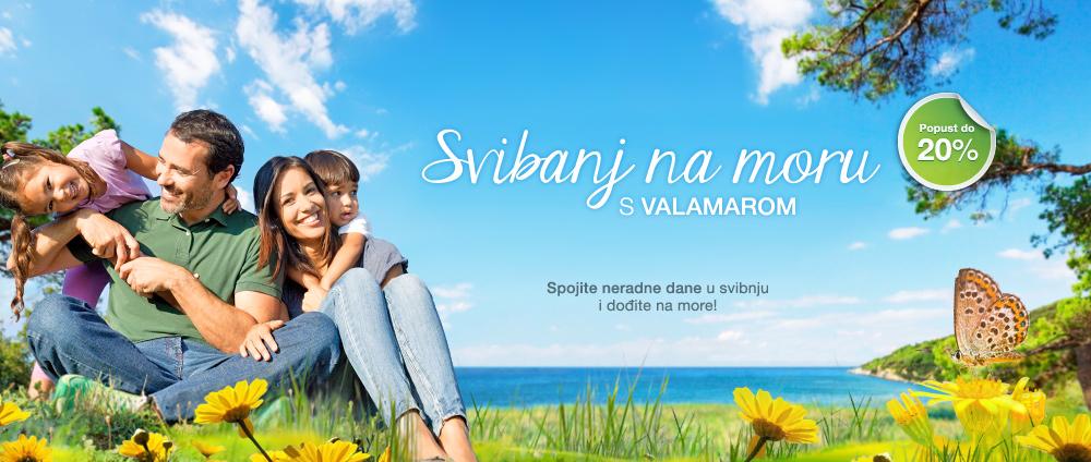 Svibanj na moru s Valamarom - Valamar Hoteli & Apartmani, Hrvatska