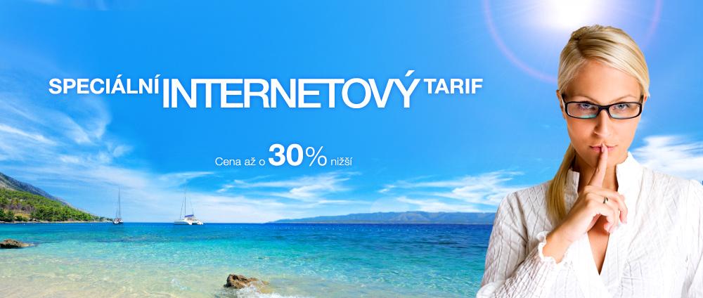 Speciální internetový tarif
