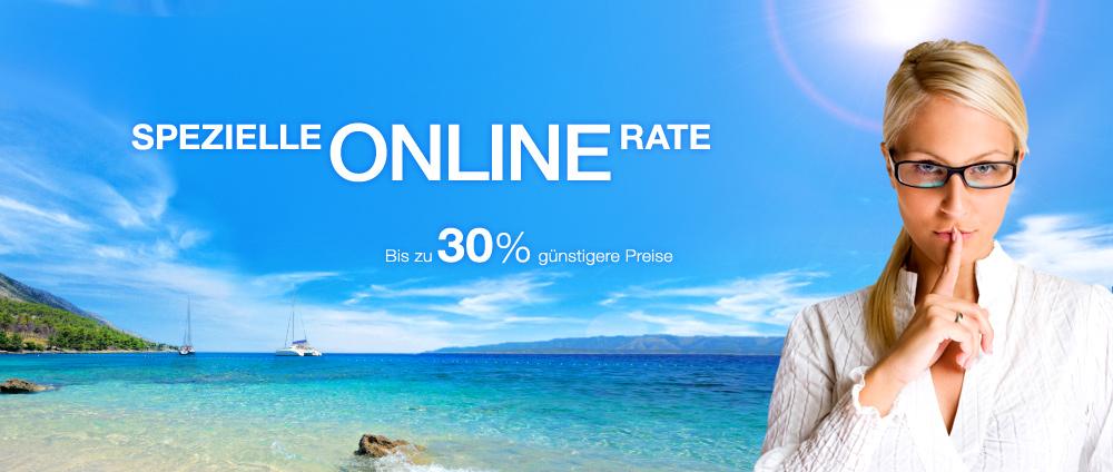 Spezielle Onlinerate - Valamar Hotels & Apartments, Kroatien