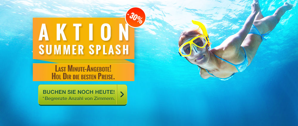 Summer splash promotion