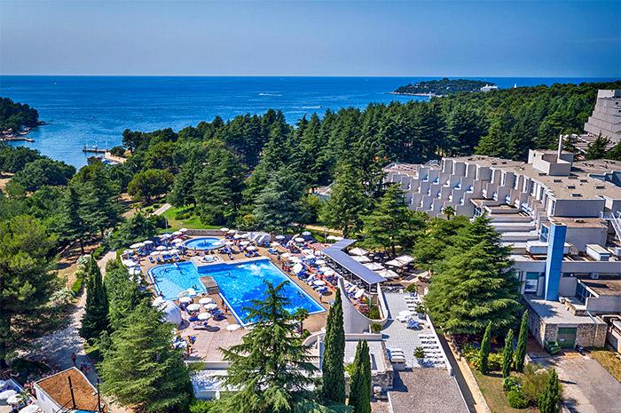 Valamar Crystal Hotel Poreč Kroatien Familienhotel In
