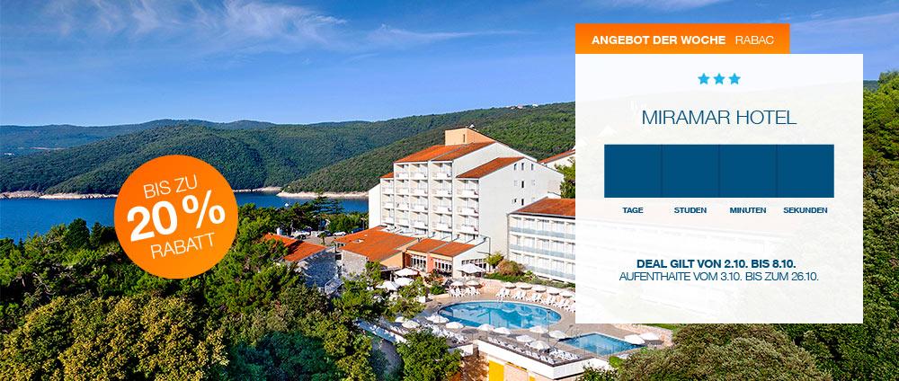 Angebot der Woche, Miramar Hotel | Valamar Hotels & Resorts