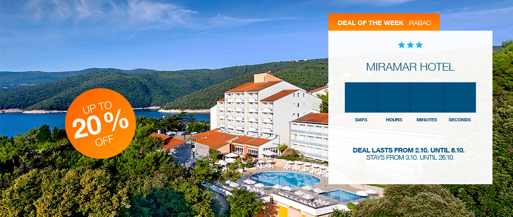 Deal of the week, Miramar Hotel | Valamar Hotels & Resorts