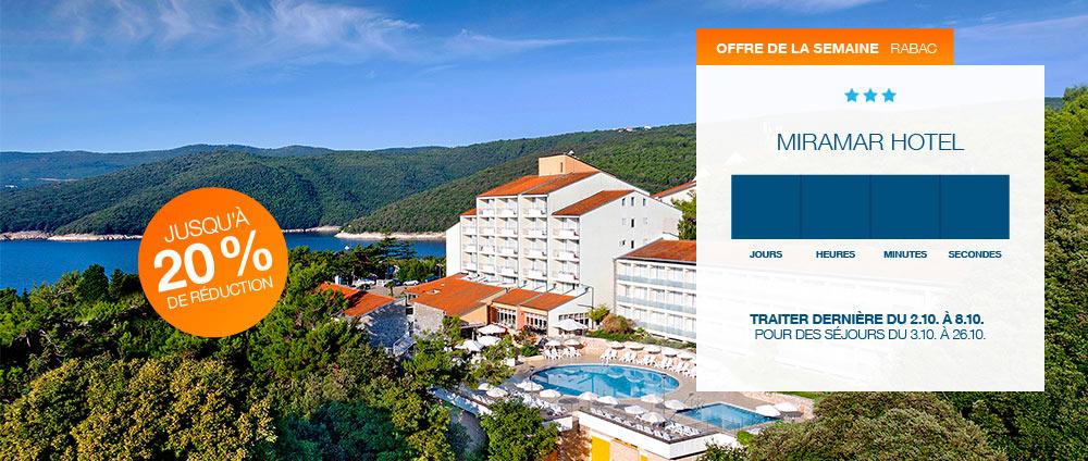 Offre de la semaine, Miramar Hotel | Valamar Hotels & Resorts