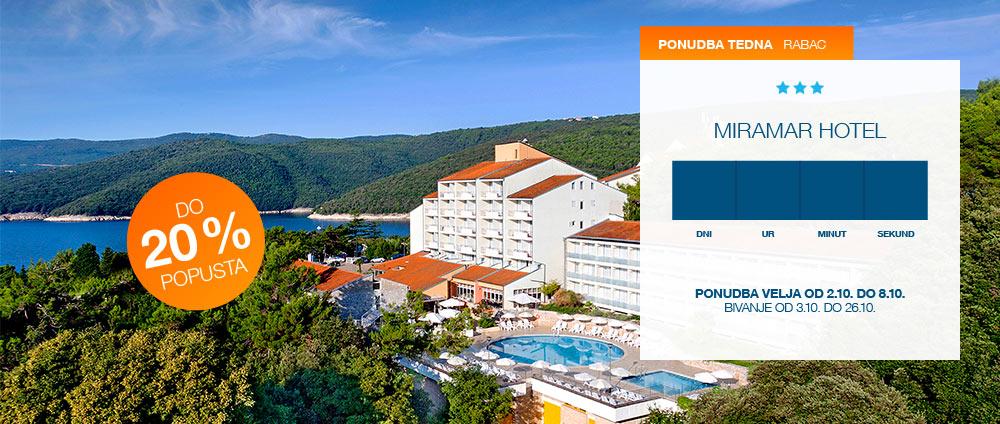 Ponudba tedna, Miramar Hotel | Valamar Hotels & Resorts