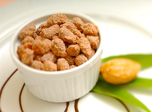 Bruštulane mjendule (sugared almonds)