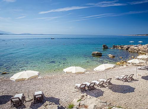 Plaža Ježevac - otok krk
