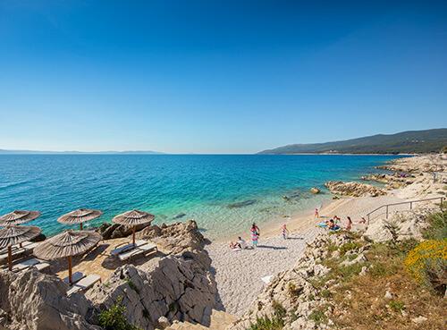Plaža Girandella - Rabac