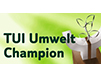 TUI Environmental Champion 2015 & 2017