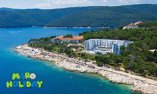 Istrien Karte Rabac.Valamar Girandella Resort Rabac Croatia Istria