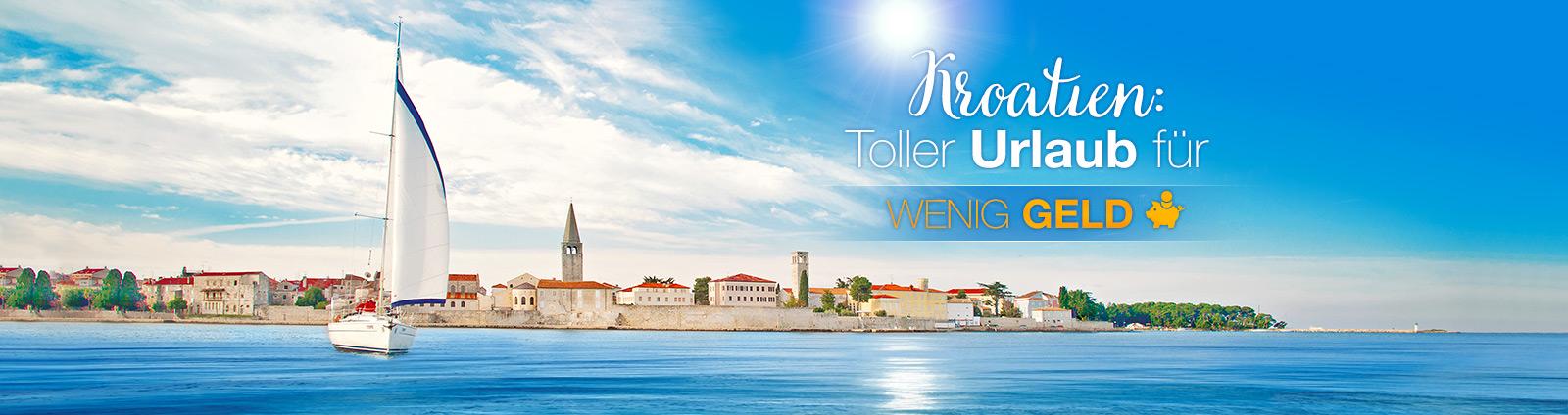 Großes Adria-Erlebnis @ low price - Valamar Hotels & Apartments, Kroatien