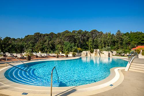 strand pools und wellness valamar imperial hotel insel rab kroatien. Black Bedroom Furniture Sets. Home Design Ideas
